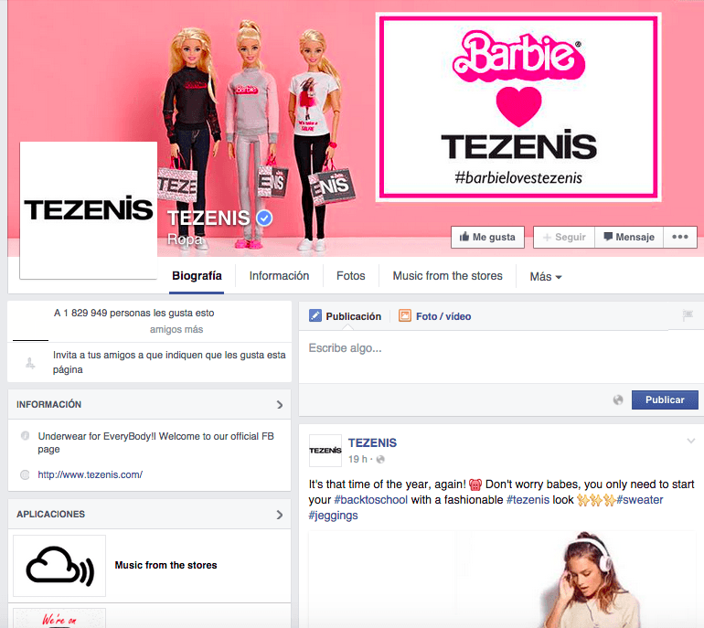 Barbie tezenis