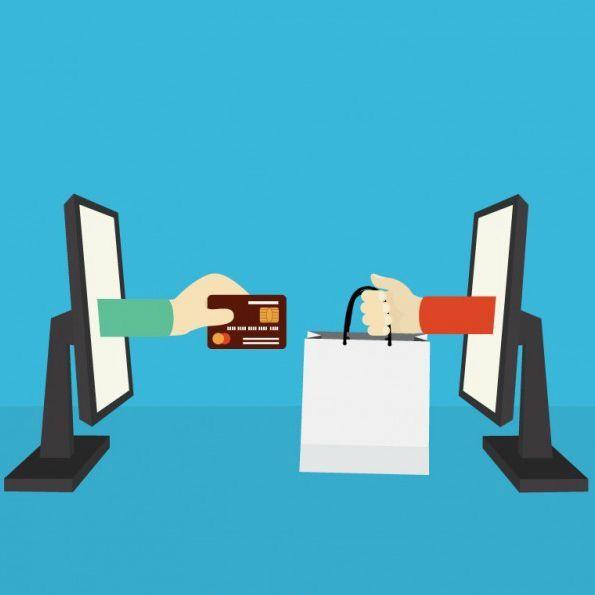 concepto del comercio electronico