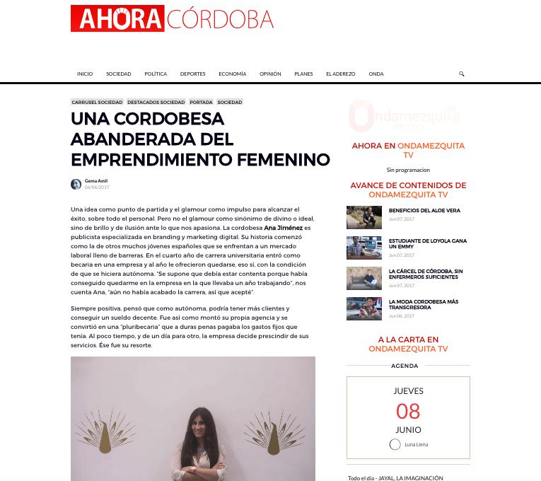 Ahora Córdoba