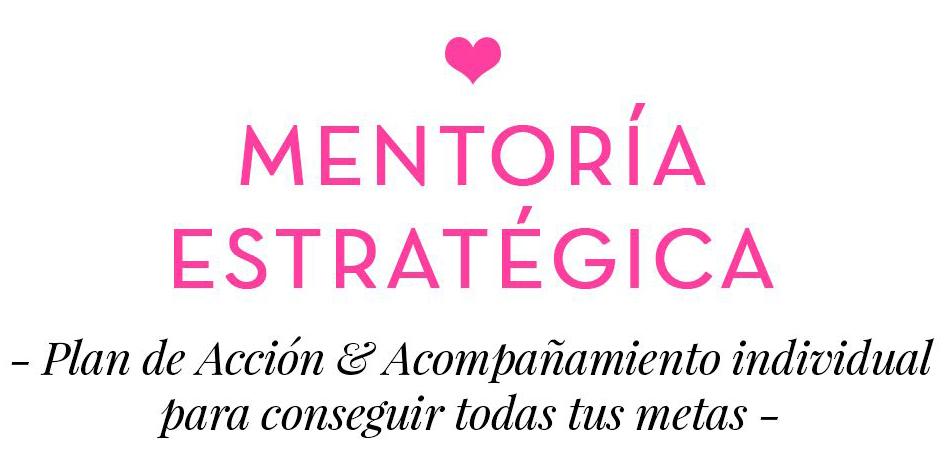 Mentoría estratégica